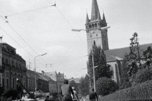 August 1968 v Prešove.