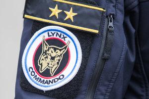 Príslušník Útvaru osobitného určenia Prezídia Policajného zboru (Lynx Commando).