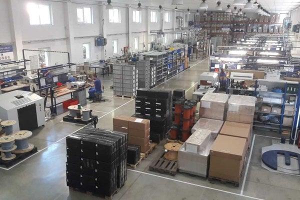 Klauke - výroba v Gelnici.