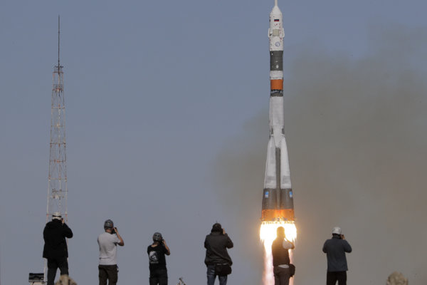 Štart Sojuzu sa nepodaril.