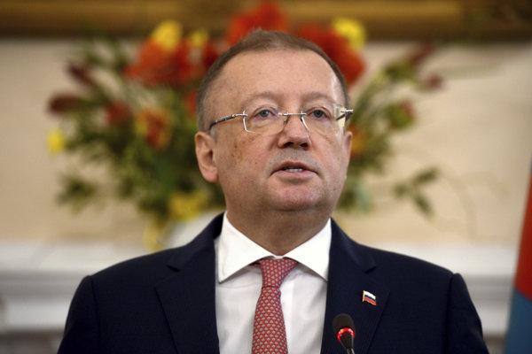 Ruský veľvyslanec v Británii Alexander Jakovenko.