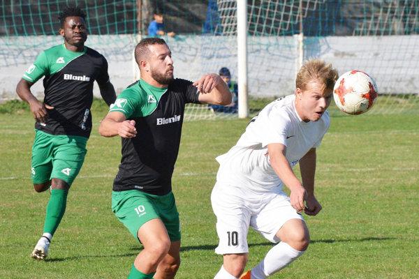V popredí dve desiatky - Karim Guemache a Filip Moďoroši.