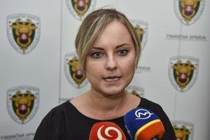 Hovorkyňa Finančného riaditeľstva SR Ivana Skokanová.