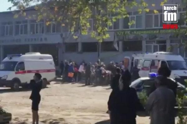 Záchranné zložky zasahujú po explózii, ku ktorej došlo na vysokej škole technickej v meste Kerč na Krymskom polostrove.