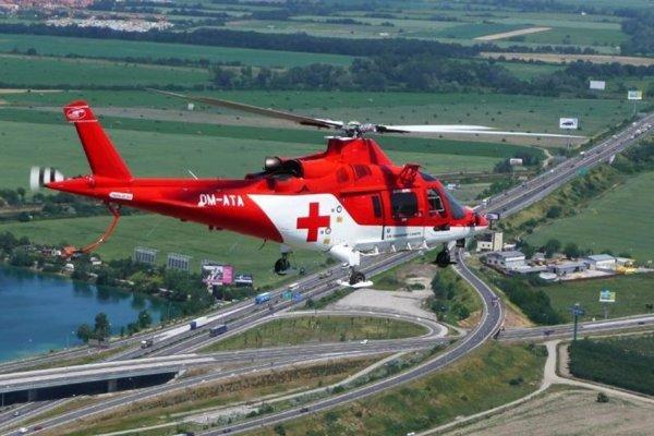 Záchranársky vrtuľník