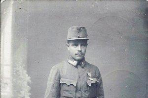 Artúr Šimko v roku 1915.