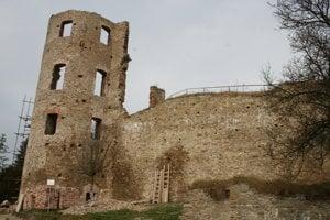 Najvyššia veža hradu.