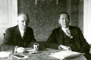 Počas svojej návštevy Košíc v máji 1933 sa minister zahraničných vecí E. Beneš stretol s ministrom zahraničných vecí Rumunska N. Titulescom.
