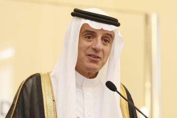 Saudskoarabský minister zahraničných vecí Ádil Džubajr.