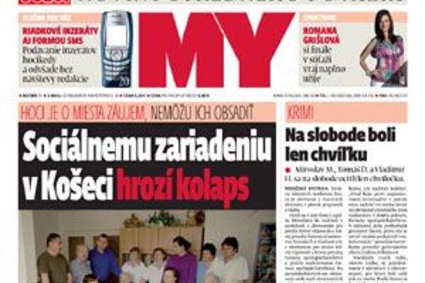 Titulka nového čísla.
