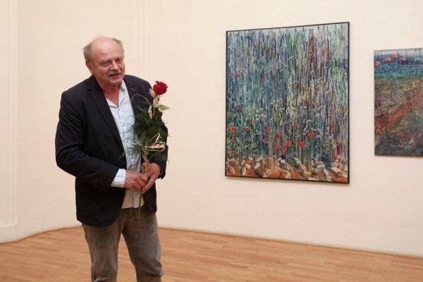 Výtvarník Martin Zálešák.
