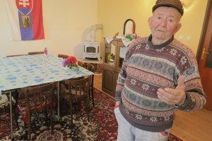 De iure starosta Ondavky, 80-ročný Andrej Marčišin.