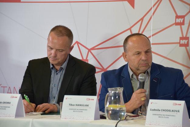 Patrik Groma a Tibor Hanuliak