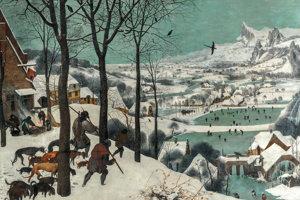 Obraz Poľovníci v snehu z roku 1565 sa považuje za jedno z najlepších zobrazení zimy, aké kto kedy namaľoval.