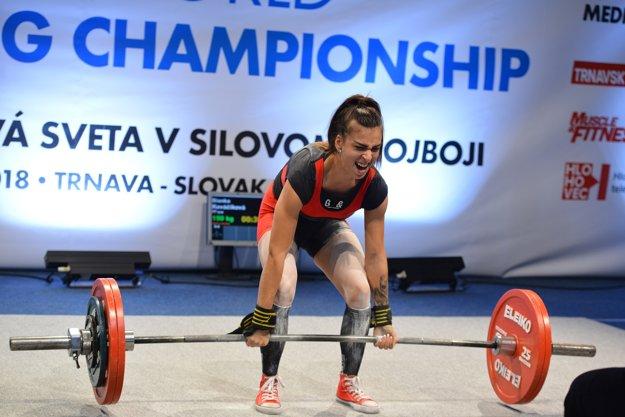 Domáca pretekárka Bianka Kováčiková