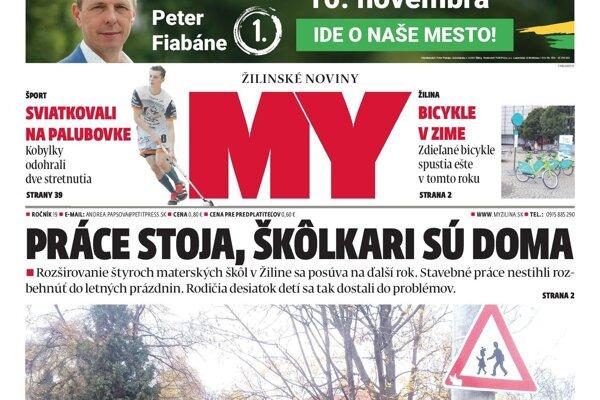 aba7f2c13c1da V najnovšom čísle týždenníka MY Žilinské noviny nájdete - SME | MY ...