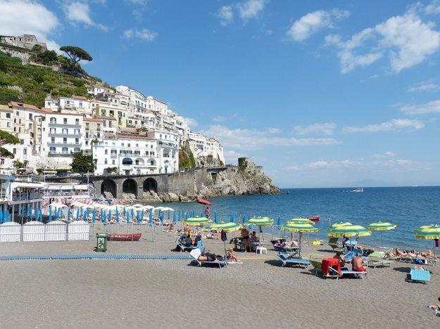 Amalfské pobrežie, Kampánia - Taliansko.