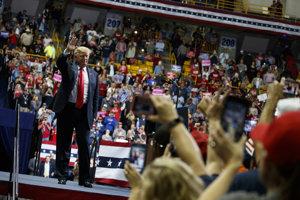 Donald Trump v kampani.