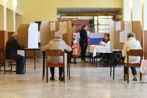 Volebná atmosféra v Starej Turej.