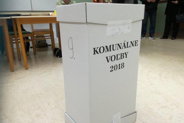 V Galante volia v osemnástich volebných okrskoch.
