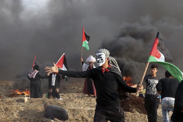 Nepokoje v Gaze pokračujú.