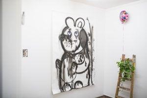 Erik Šille: výstava Čierny melón