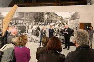 Otvorenie výstavy L. Bielika v MaMo v Marseille