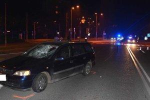 Nehoda na Slaneckej ceste v Košiciach.
