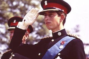 Na archívnej snímke z 11. júna 1969 princ Charles.