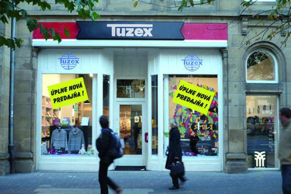 Nová predajňa Tuzexu na Hlavnej ulici.