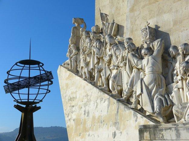 Pamätník venovaný portugalským moreplavcom