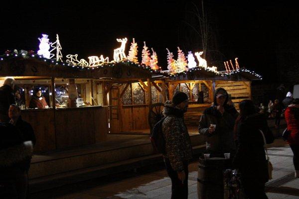 Vianočné trhy v Piešťanoch