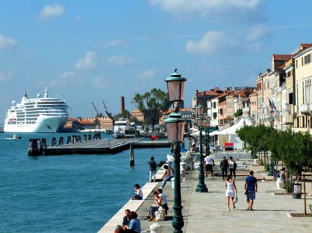 Benátky, Taliansko.