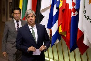 Šéf Euroskupiny Mario Centeno.