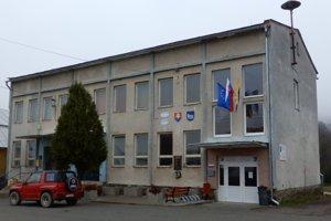Budova obecného a kultúrneho domu v obci Čertižné.