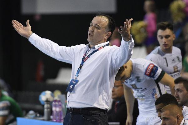 Tréner Tatrana Slavko Goluža.
