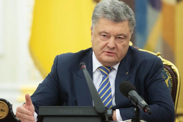 Petro Porošenko, prezident Ukrajiny.