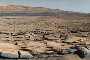Pred 3,8- až 3,3 miliardami rokov boli na Marse jazerá aj toky. V októbri 2015 o tom informovala NASA na základe pozorovaní sondy Mars Science Laboratory a roveru Curiosity. Mars v tejto dobe omnoho viac pripomínal Zem. Na zábere sú vrstvy, ktoré naznačujú dávny tok vody.