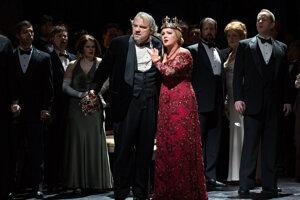 Verdiho Macbeth v Metropolitnej opere v New Yorku.
