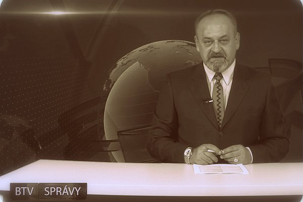Štatutár, riaditeľ a konateľ Bardejovskej mestskej televízie Štefan Hij. (ZDROJ: ARCHÍV BTV).