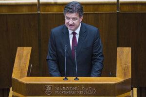 15. máj 2018. V slovenskom parlamente počas rozpravy.
