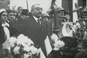 Maďarskú armádu privítal primátor Ján Holota.