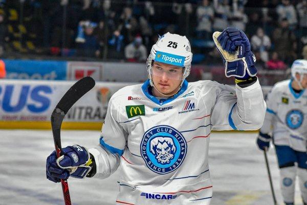 Samo Buček sa tešil z prvého hetriku medzi seniormi.