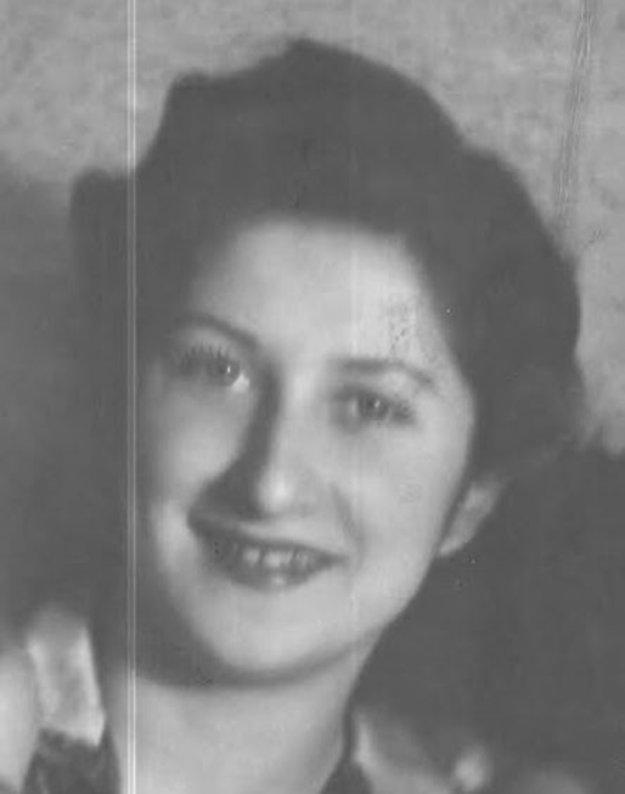 Julianna Földesné v štyridsiatych rokoch