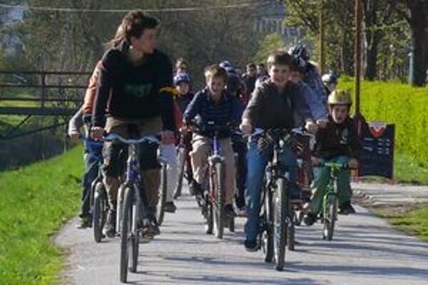 Bystricykel ju organizoval aj tento rok v apríli. Ukázalo sa, že cyklistická doprava má v meste veľkú podporu.