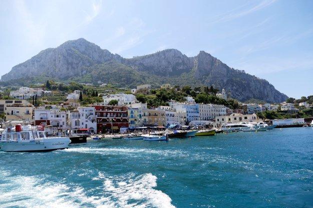 Ostrov Capri.