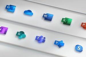 Nové ikony programov od Microsoftu.