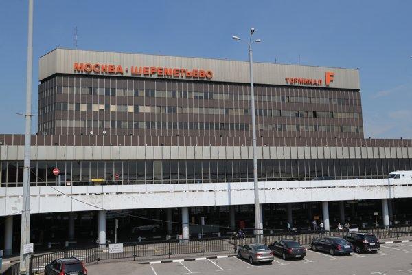 Moskovské letisko Šeremeťjevo.