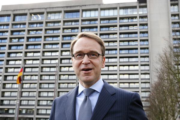 Guvernér Deutsche Bundesbank Jens Weidmann.