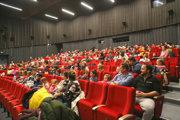 Novootvorené kino Torysa.